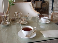 ブセナテラスで午後の紅茶