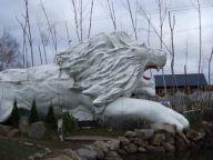 ライオンの外観