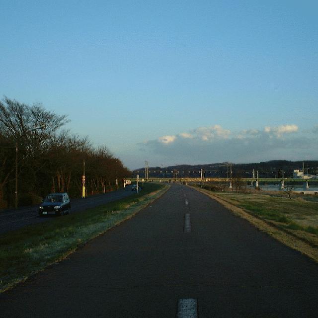 京王本線の上流側