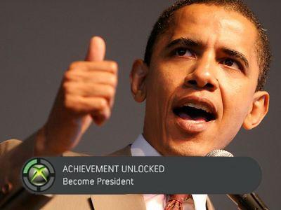 実績が解除されました「大統領になる」