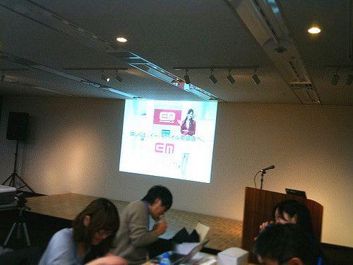 ブロガーイベント「Pocket WiFiで変えるライフスタイル!」、会場の様子