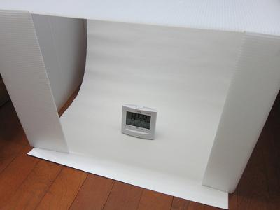 わずか700円で撮影ボックスを自作してしまった