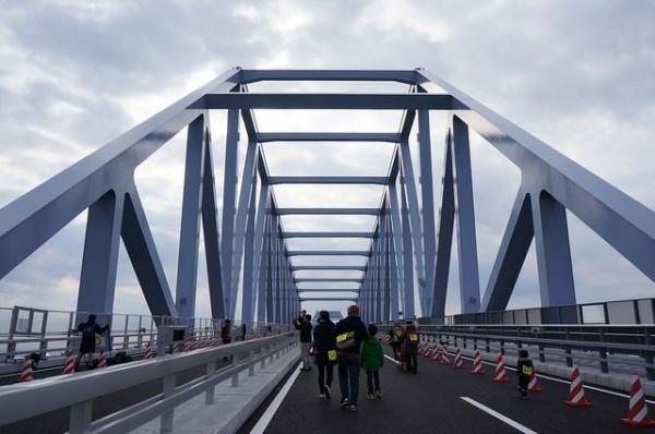 東京ゲートブリッジ、トラス部
