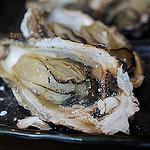 宮島・牡蠣屋の焼きがき