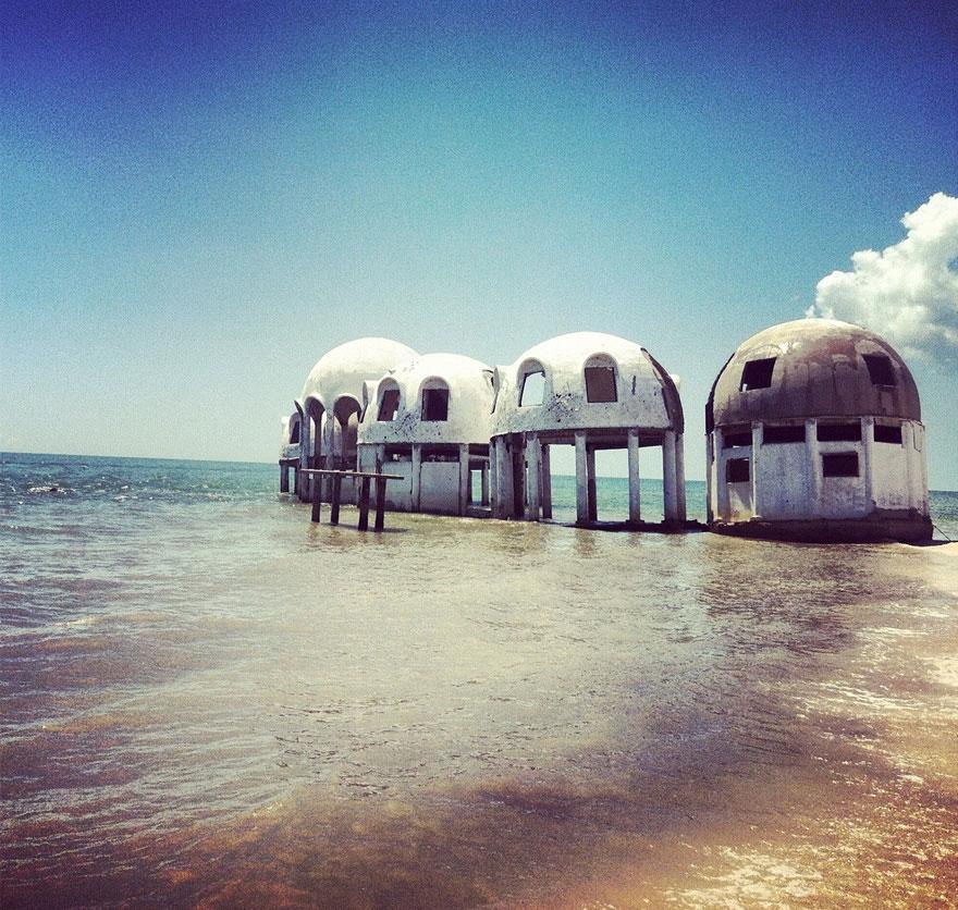フロリダ南西の無人島