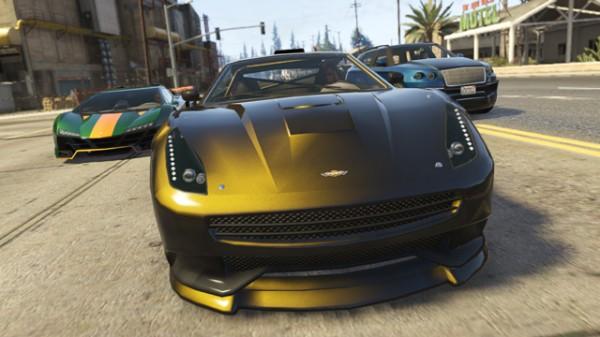 新車両 Zentorno、 Massacro と Huntley Sの走行イメージ