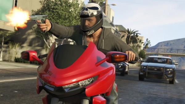 新バイク Dinka Thrust で逃走中