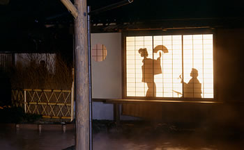 江戸情話 与市の影芝居