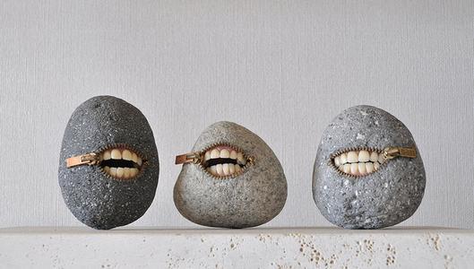 石とは思えない驚愕のアート「自遊石」に衝撃を受けた (※写真あり)