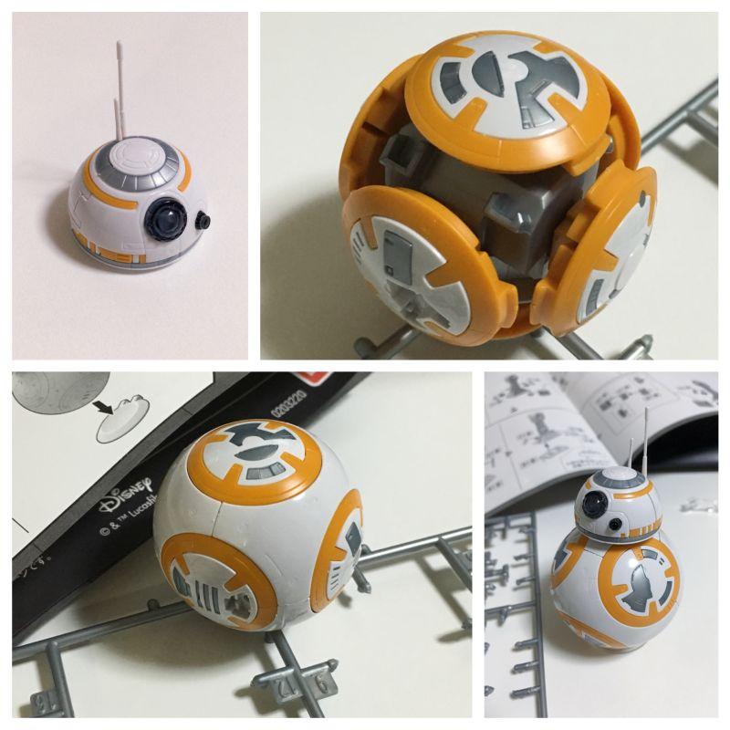 プラモデル BB-8 作成手順 概要