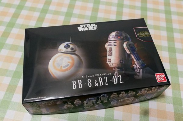 スターウォーズ 1/12 BB-8&R2-D2 [プラモデル] 、外箱