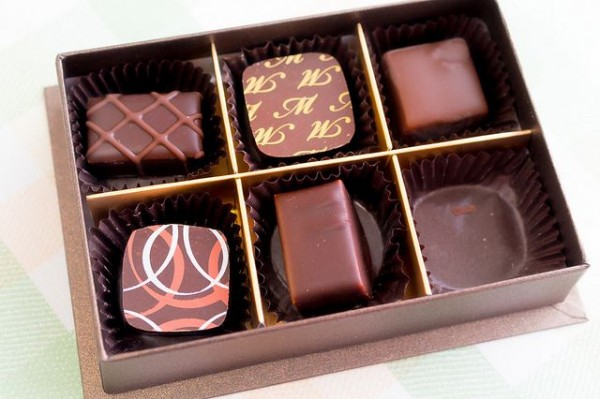 Valentine chocolate boxes