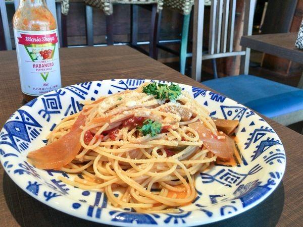 CAFE&BAL PUMALのトマトパスタ