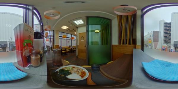 名代 富士そば 町田店2階にて肉富士そばを食す