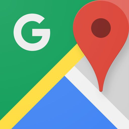 Google マップ、アプリアイコン