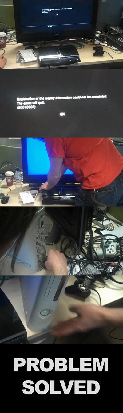 PS3の障害回避方法