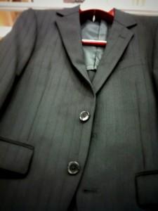 スーツを買ってきた