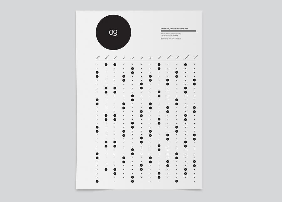 Calendar Graphic Design Images : 個性的なカレンダー とか( の雑記) hinemosu