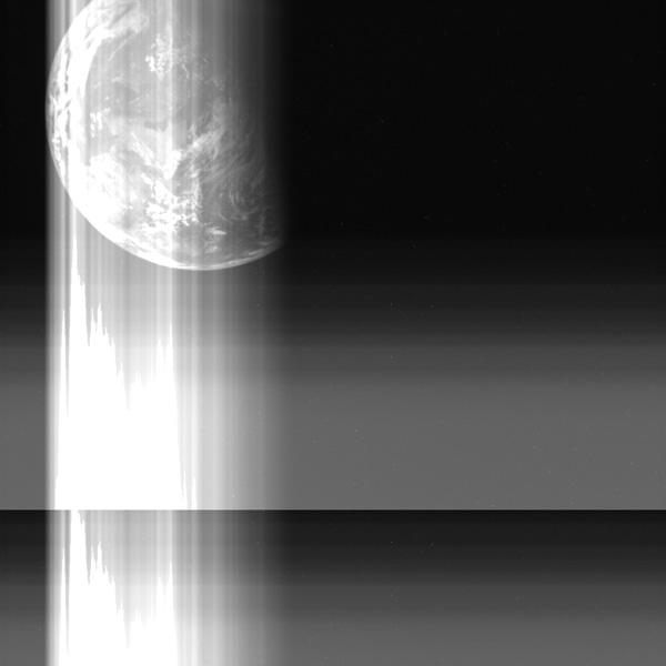 はやぶさが最後に見た地球