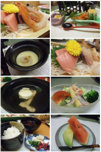 ホテル木暮の夕食