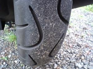 ADDRESS V125Gのリアタイヤ