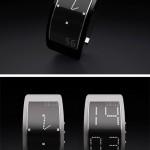 電子ペーパーを使用している腕時計